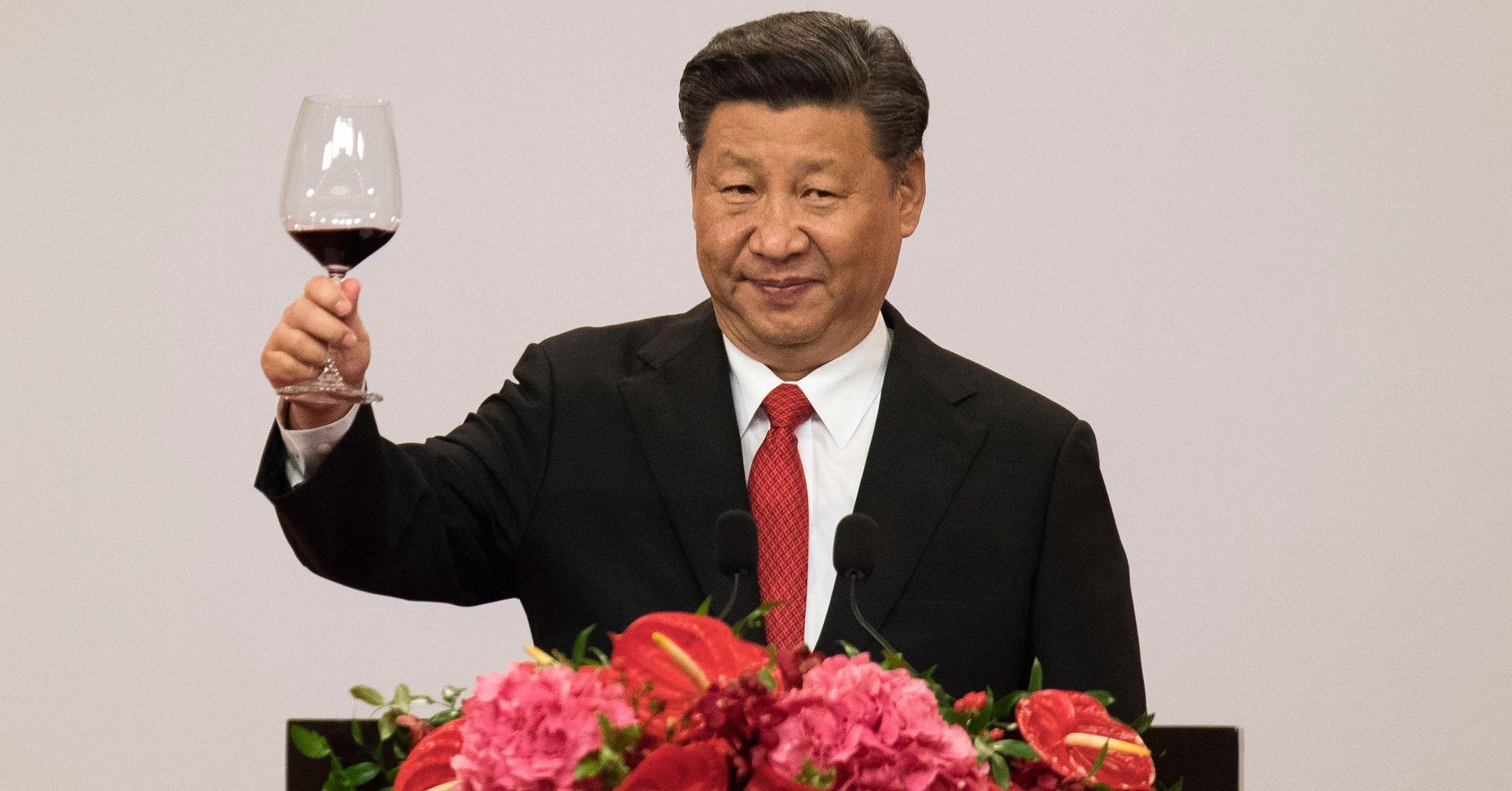 Xi Jinping vino